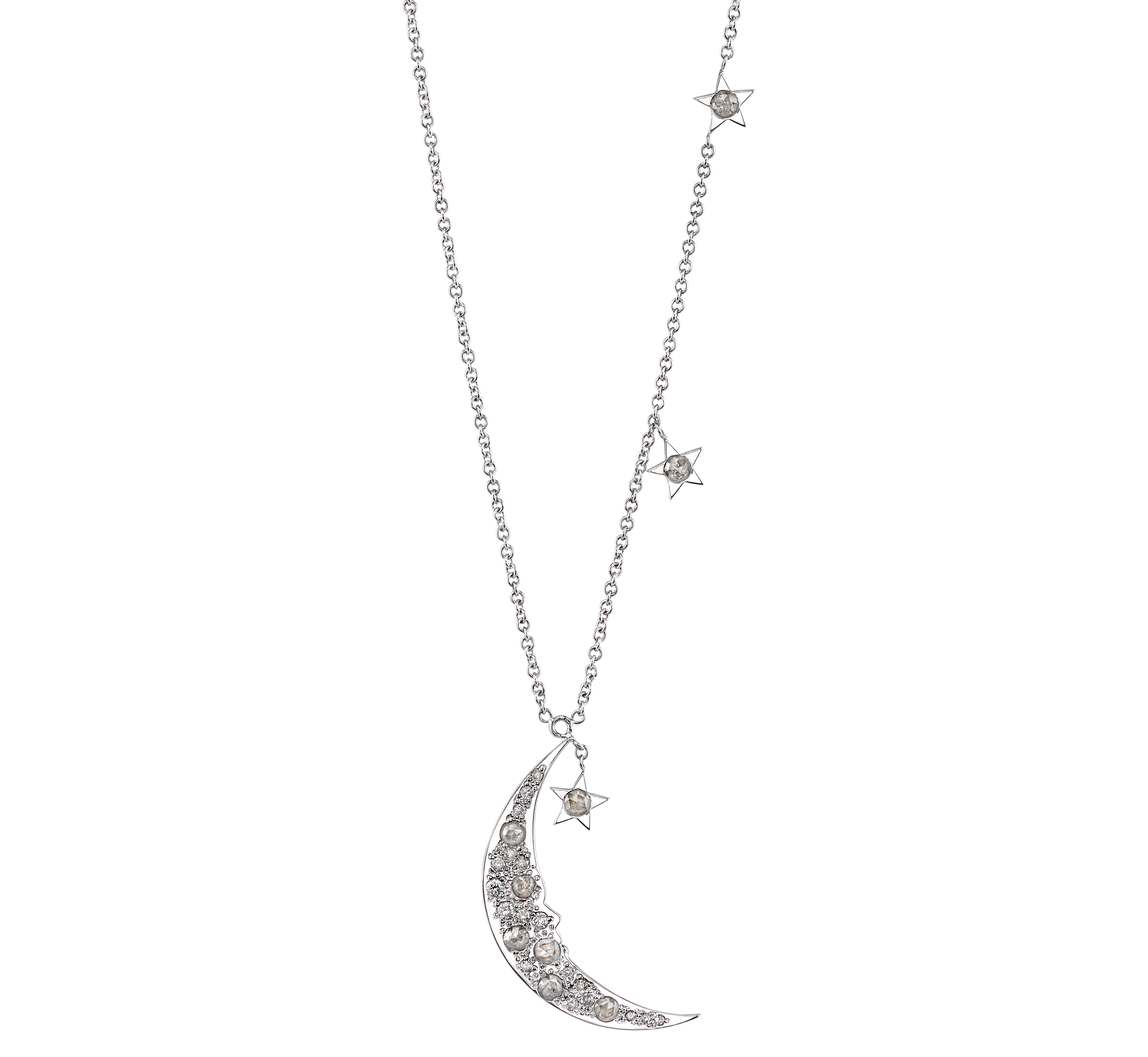 "Rhonda Faber Green ""You're the Moon and Stars"" necklace 