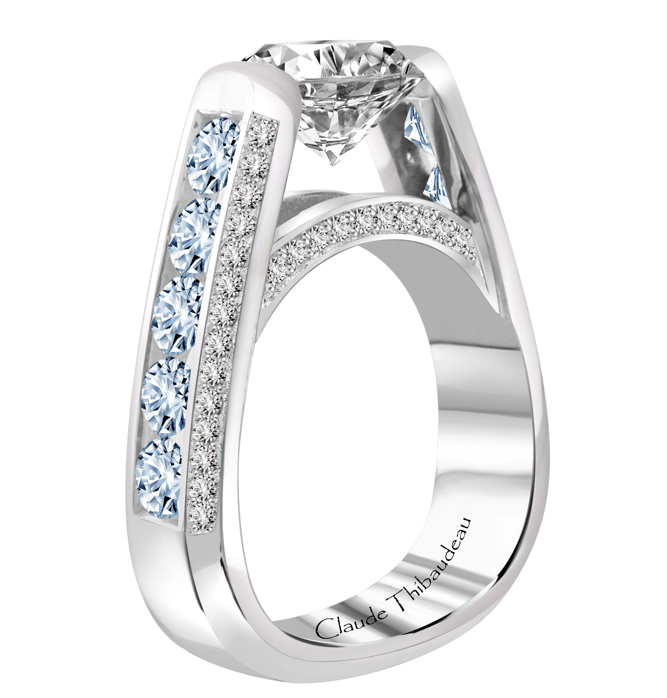 diamond jewellery raine ring blue rings product turgeon engagement