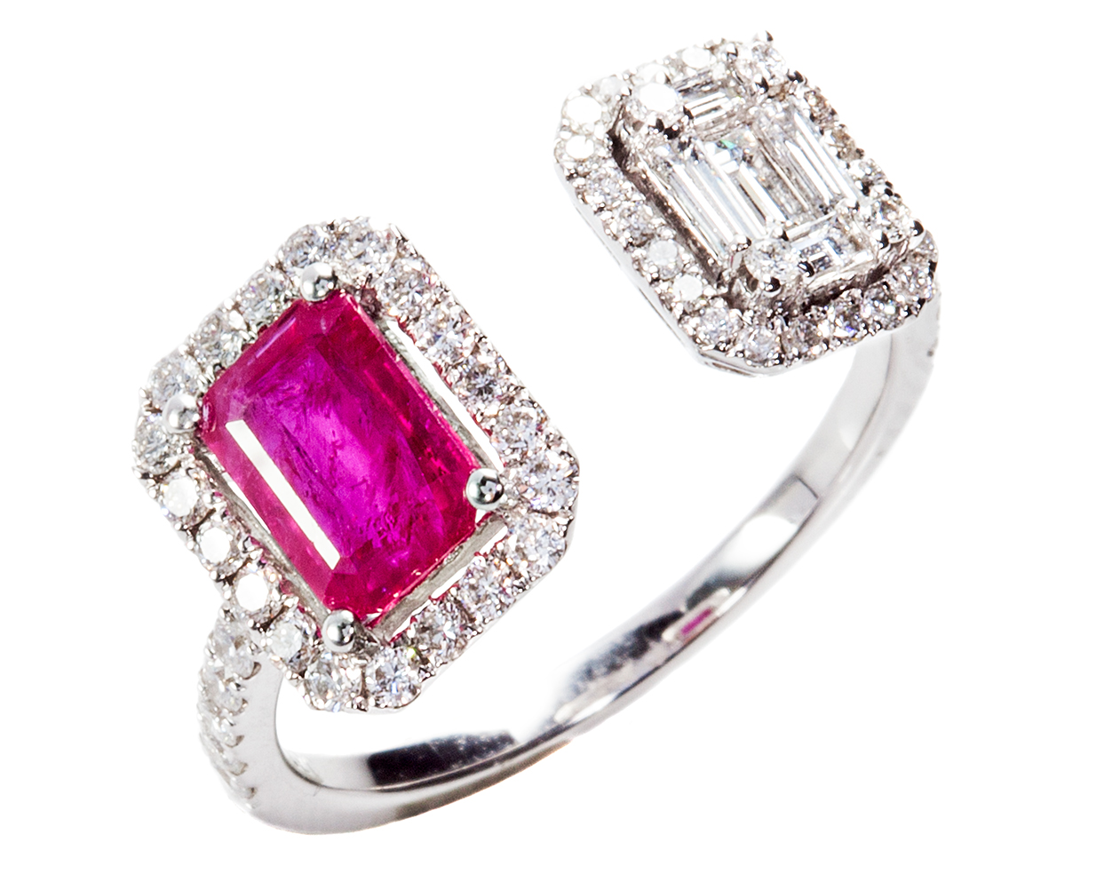 Graziela ruby and diamond Affinity ring | JCK On Your Market