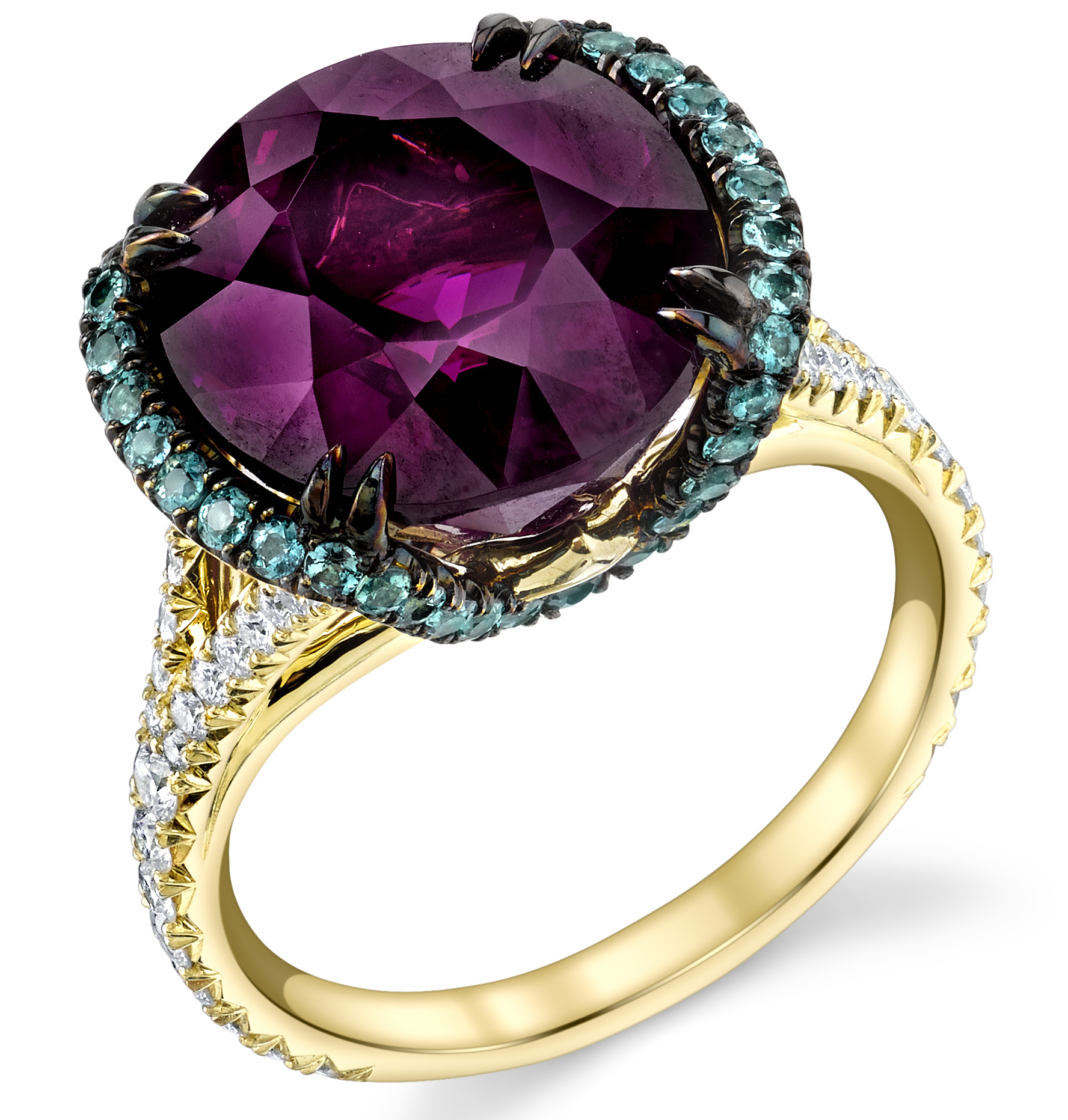 Omi Privé purple garnet Sevilla ring | JCK On Your Market