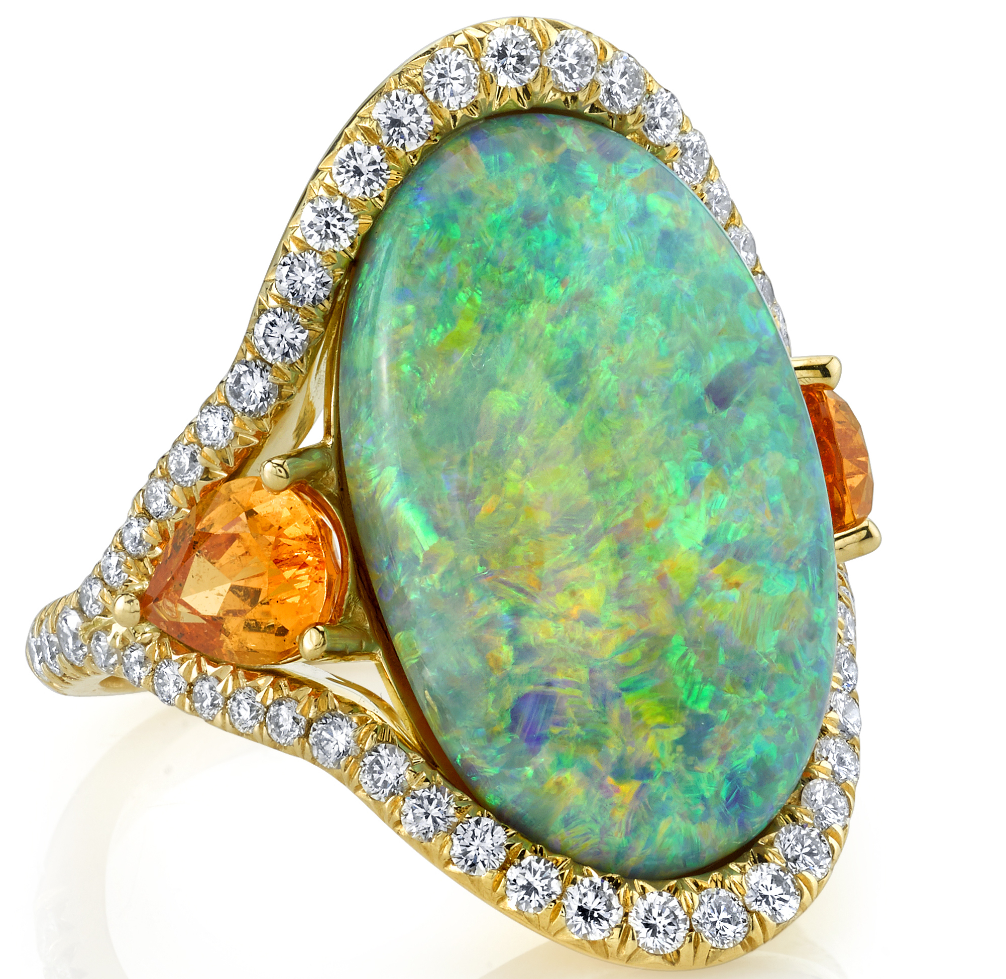 Omi Privé black opal Sevilla ring| JCK On Your Market