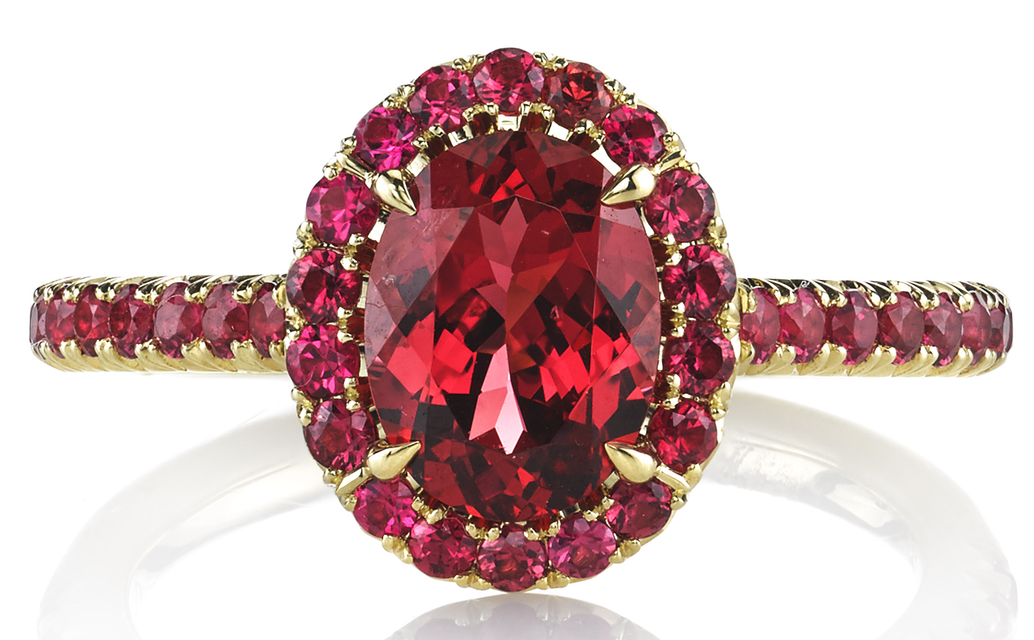 Omi Privé red spinel Doré ring | JCK On Your Market