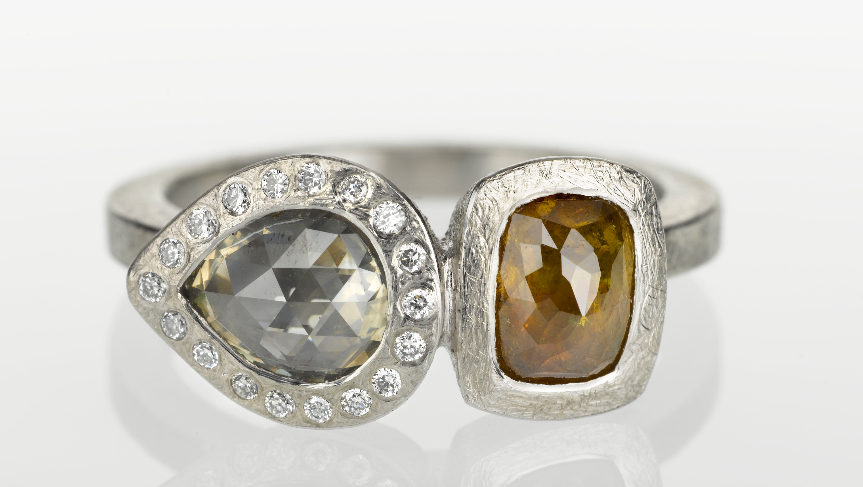 Todd Reed natural fancy diamond ring | JCK On Your Market