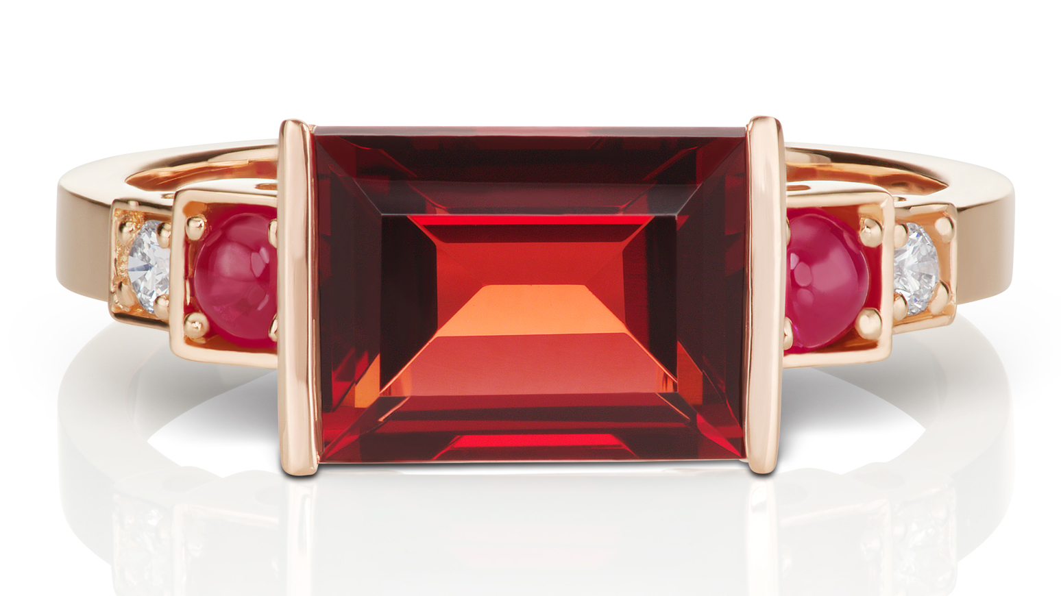 Jane Taylor Jewelry Cirque collection garnet ring | JCK On Your MArket