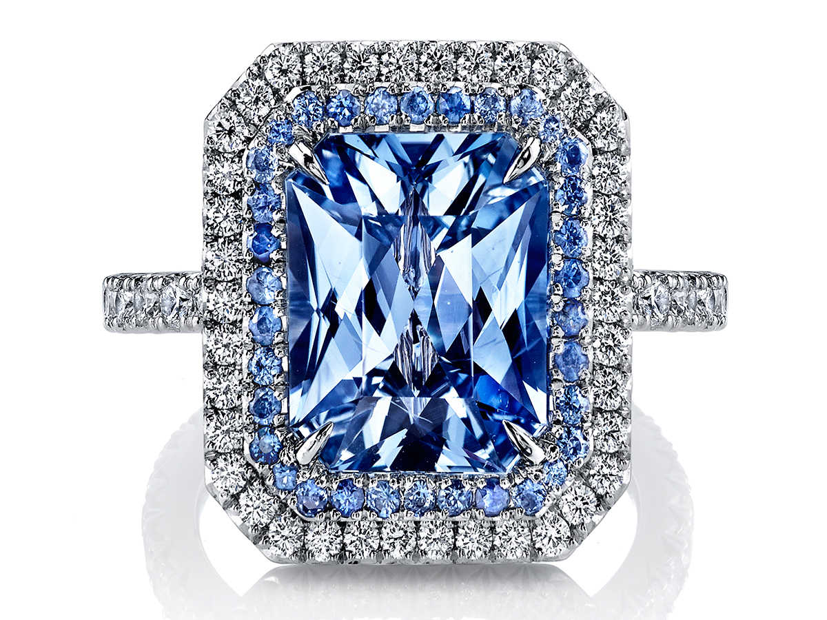 Omi Privé Serenity sapphire ring | JCK On Your Market