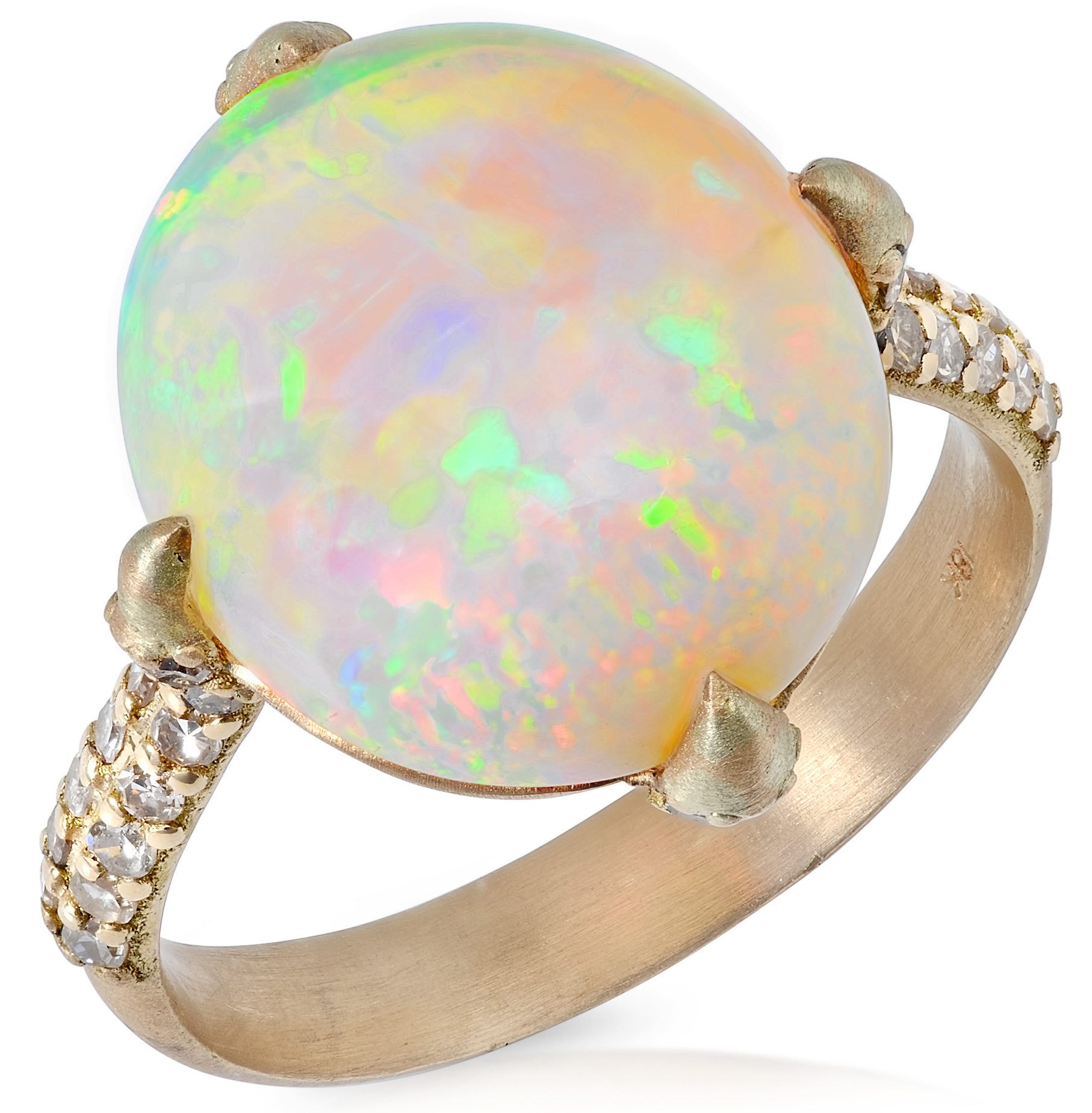 Bavna opal and diamond ring | JCK On Your Market