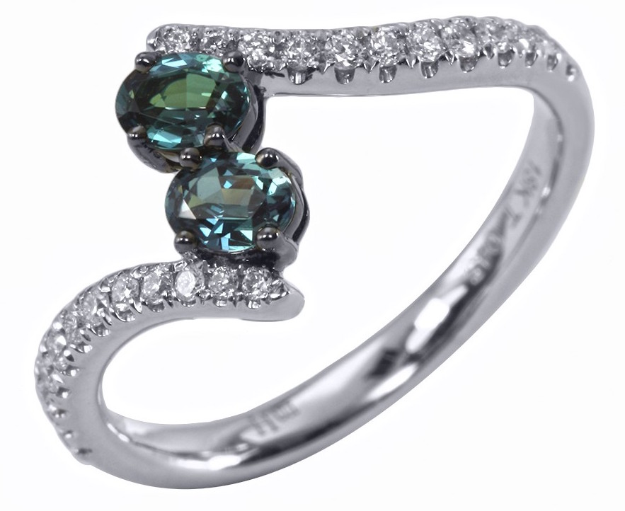Mark Henry You and I collection alexandrite ring | JCK On Your Market