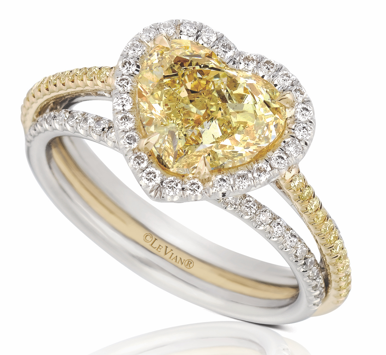 Le Vian heart-shape diamond engagement ring | JCK On Your Market