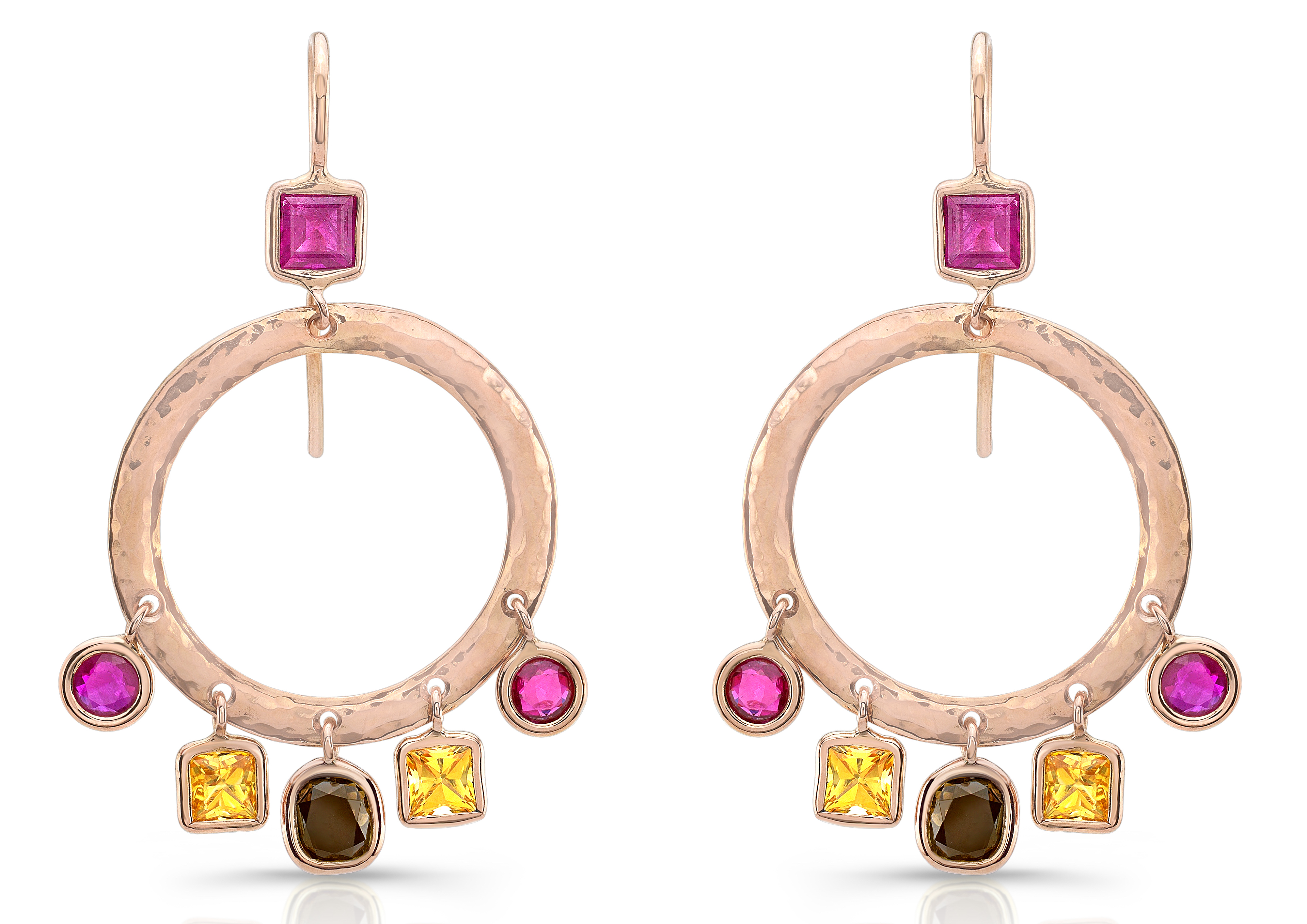 Dorian and Rose confetti drop earrings | JCK On Your Market