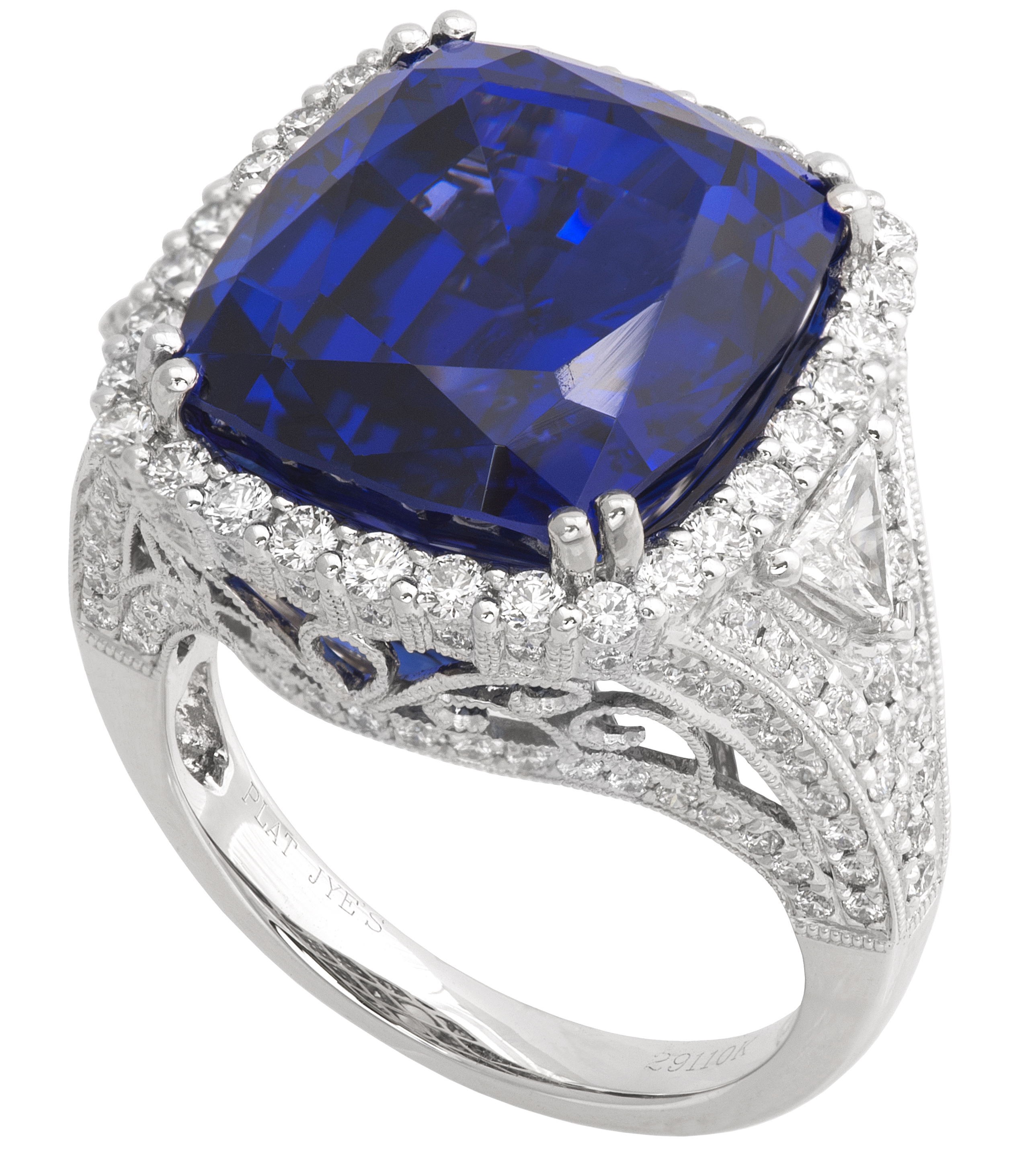 Jye Luxury Collection tanzanite cocktail ring | JCK On Your Market