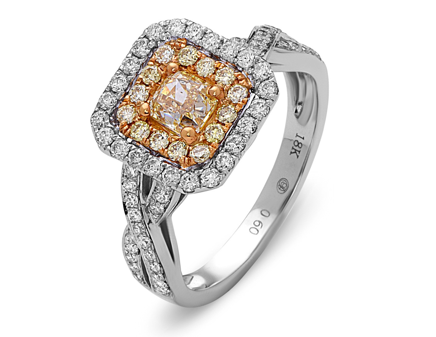 Dilamani Canary collection natural color diamond ring | JCK On Your Market