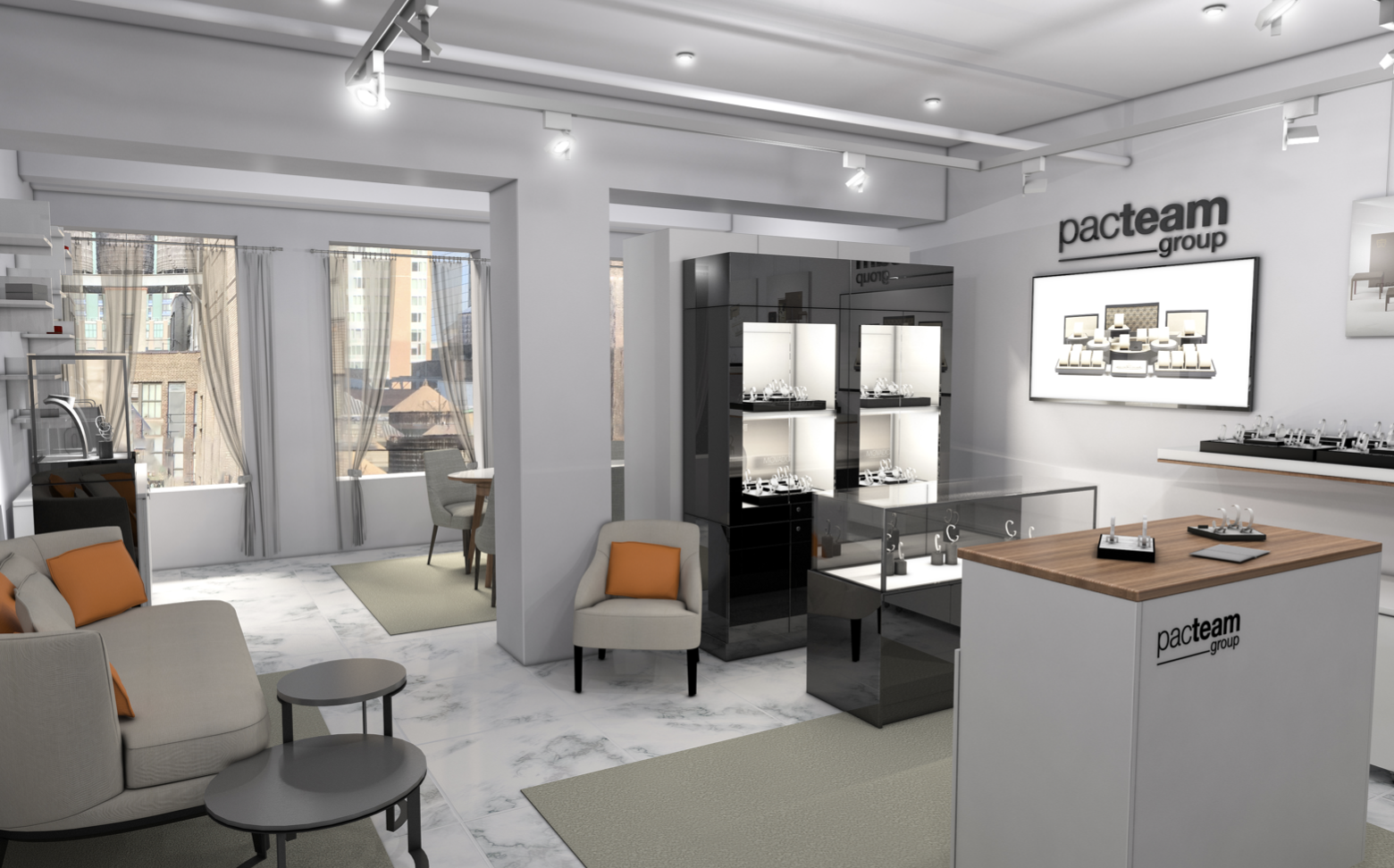 Pac Team Group new Manhattan showroom | JCK Supplier News