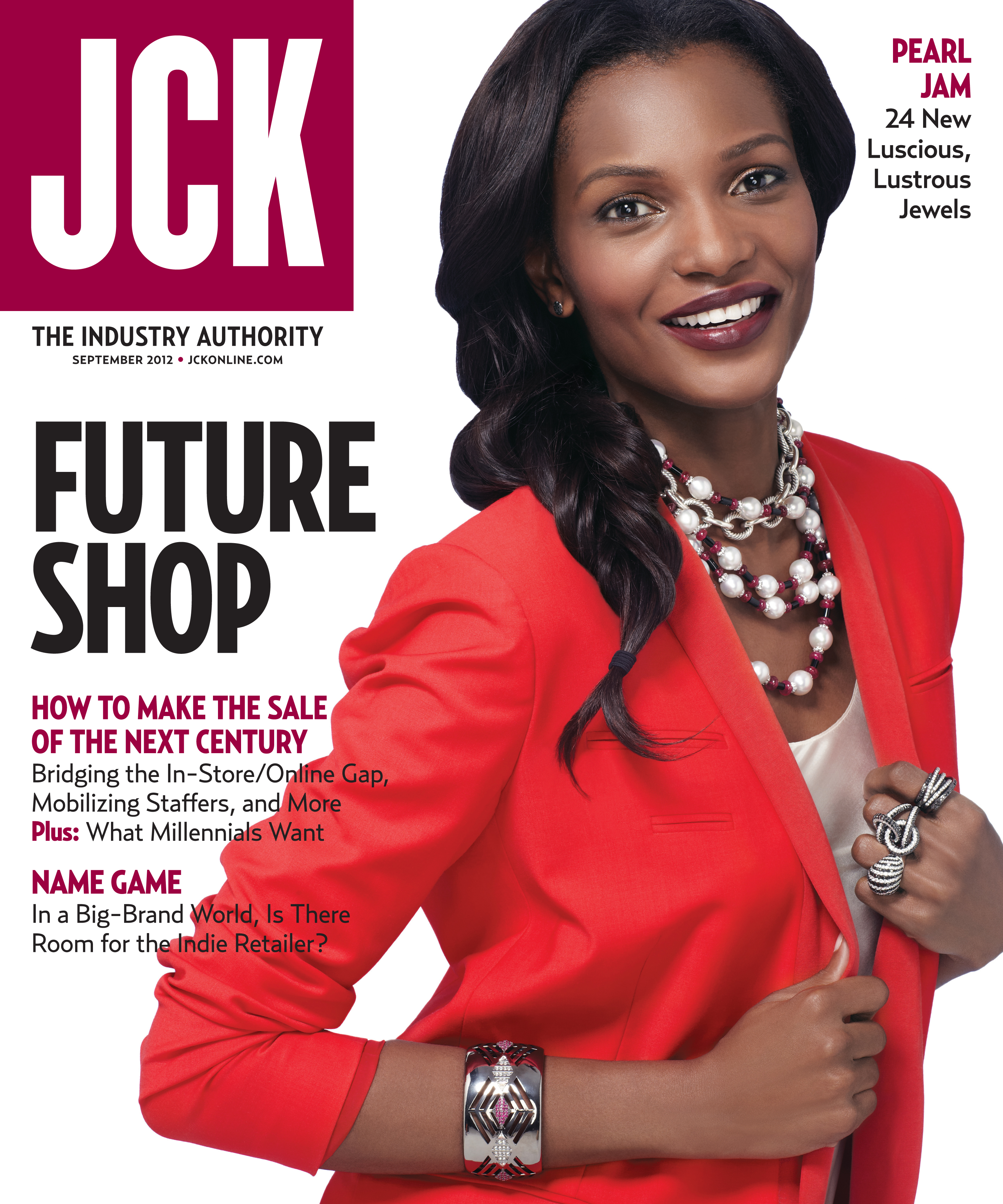 Jane Taylor's Warrior cuff on the Sept. 2012 cover of JCK Magazine | JCK On Your Market