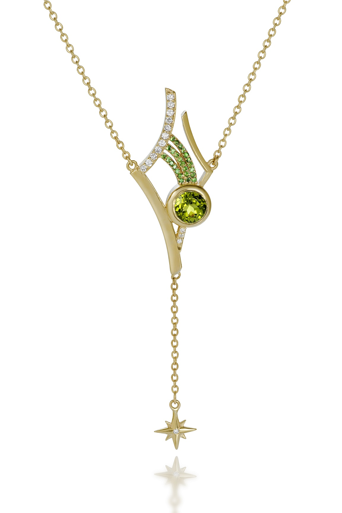 Martha Seely Shooting Stars collection Antares necklace #BRITTSPICK | JCK On Your Market