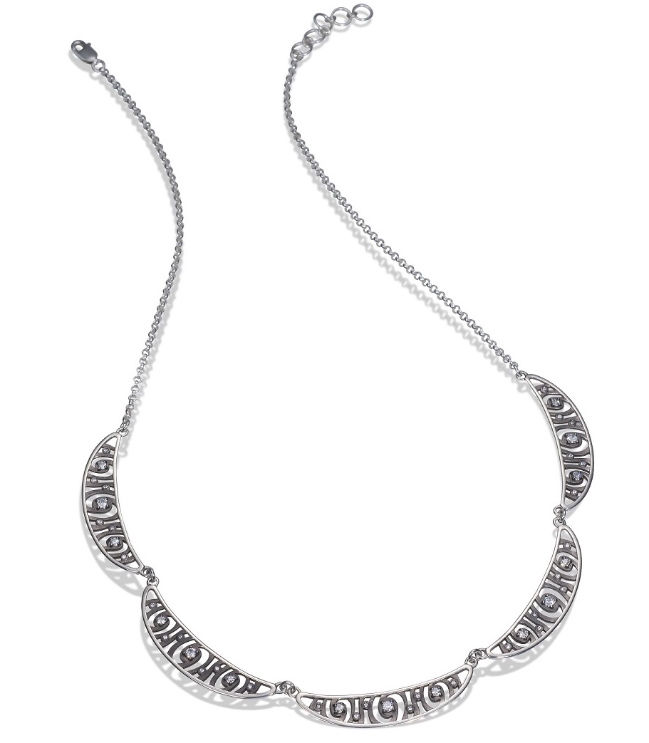 Martha Seely Shooting Stars five-station necklace | JCK On Your Market