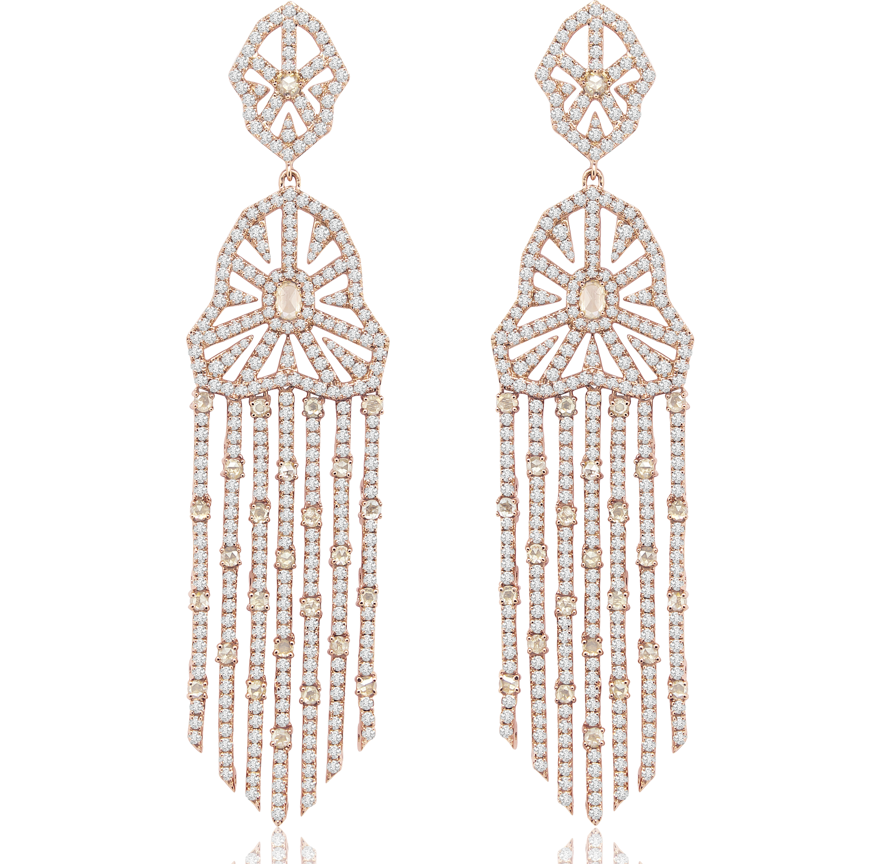 Sutra Victorian inspired diamond earrings | JCK On Your Market