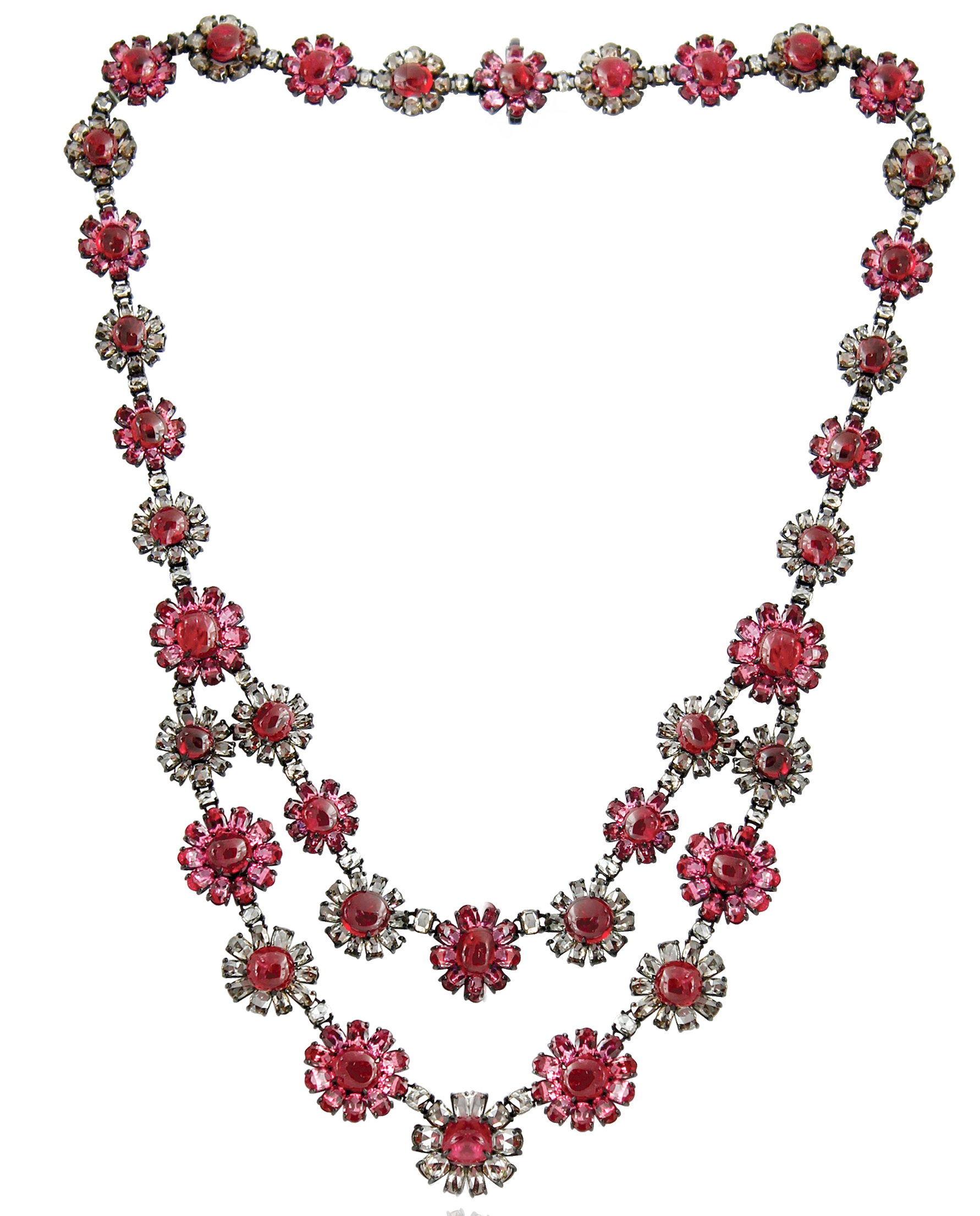 Sutra spinel flower necklace | JCK On Your Market