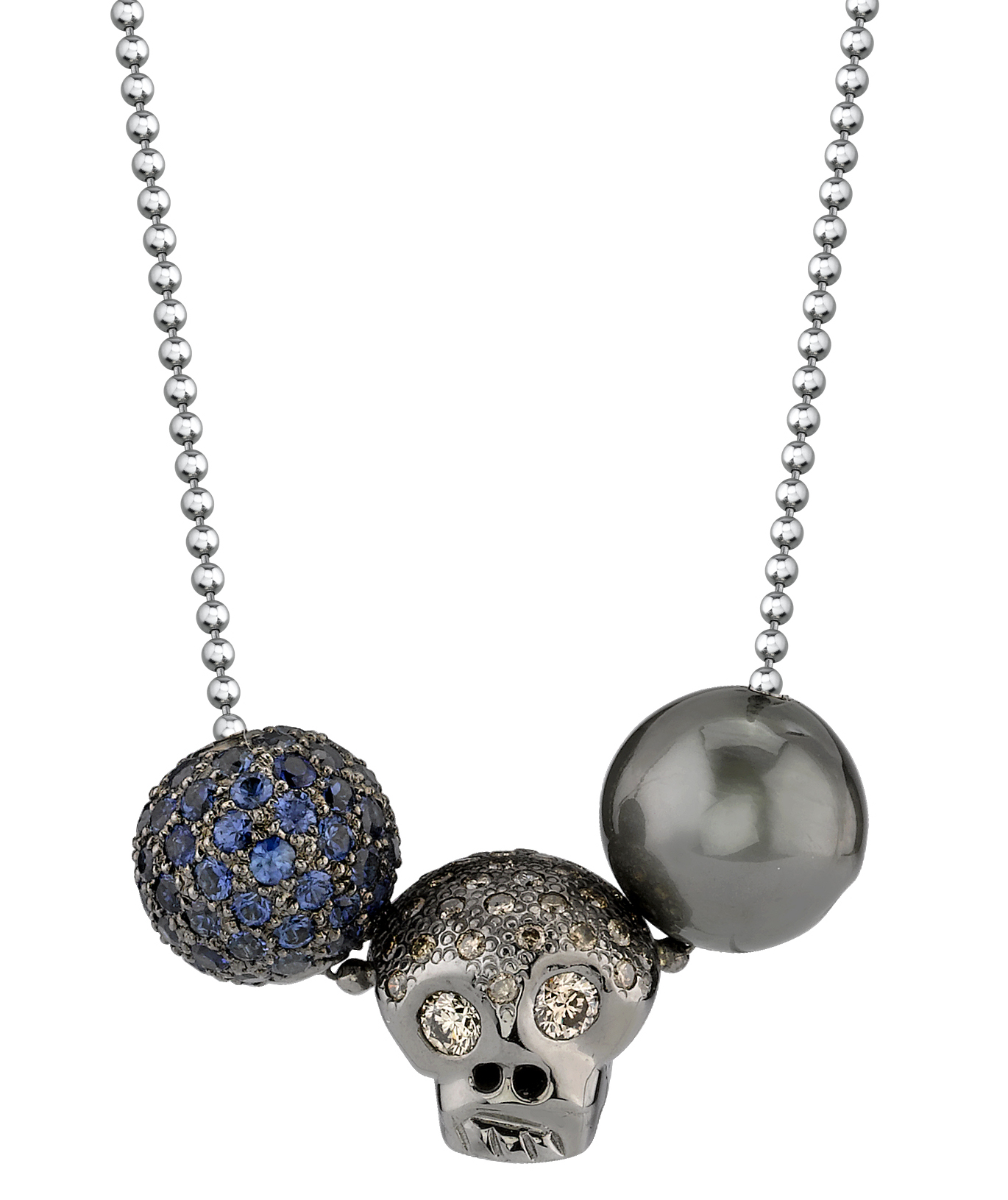 Borgioni skull and beads pendant | JCK On Your Market