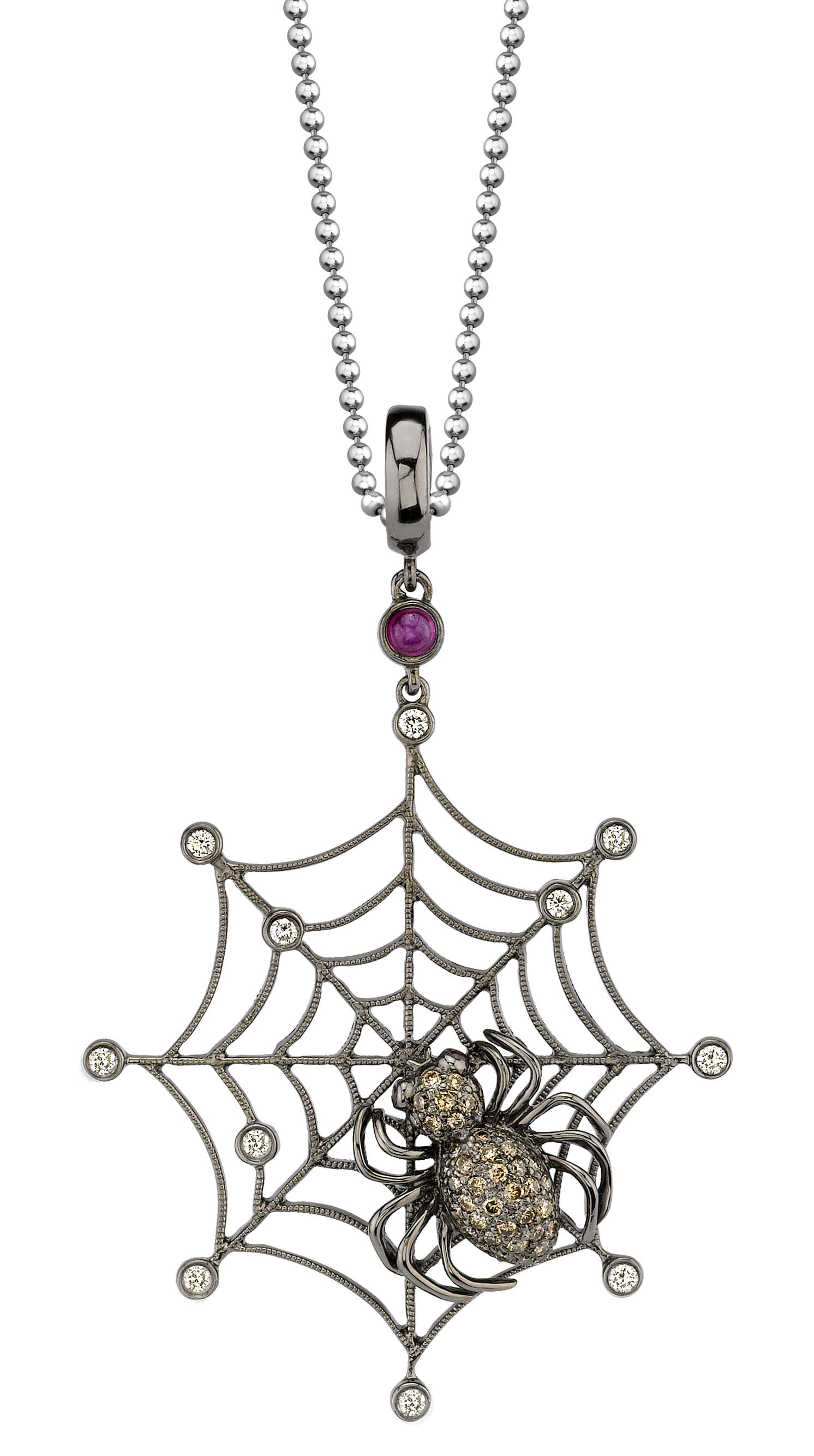 Borgioni large spider web pendant | JCK On Your Market