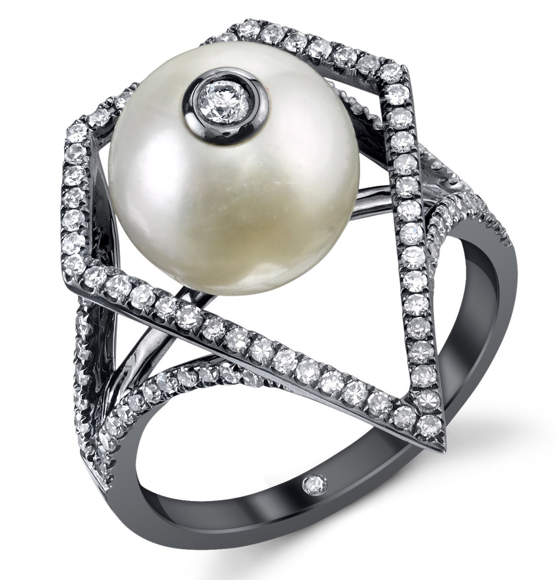 Shay Caged pearl ring | JCK On Your Market