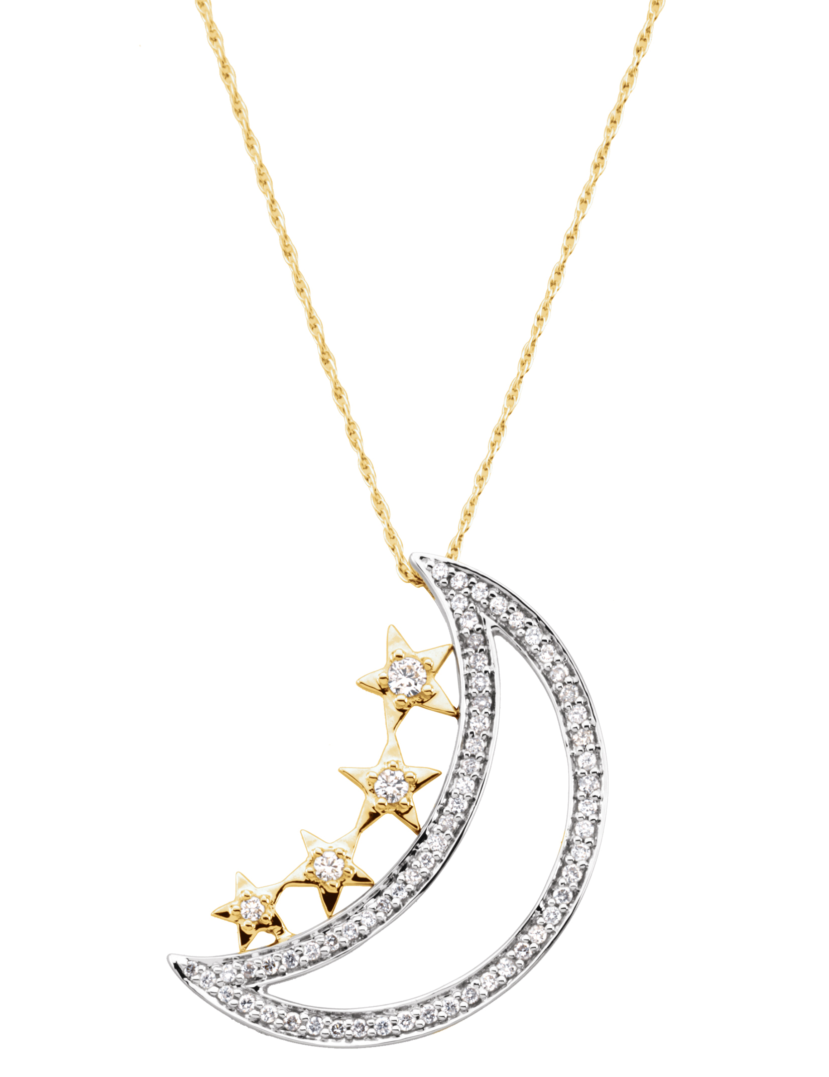 Stuller moon and star pendant | JCK On Your Market