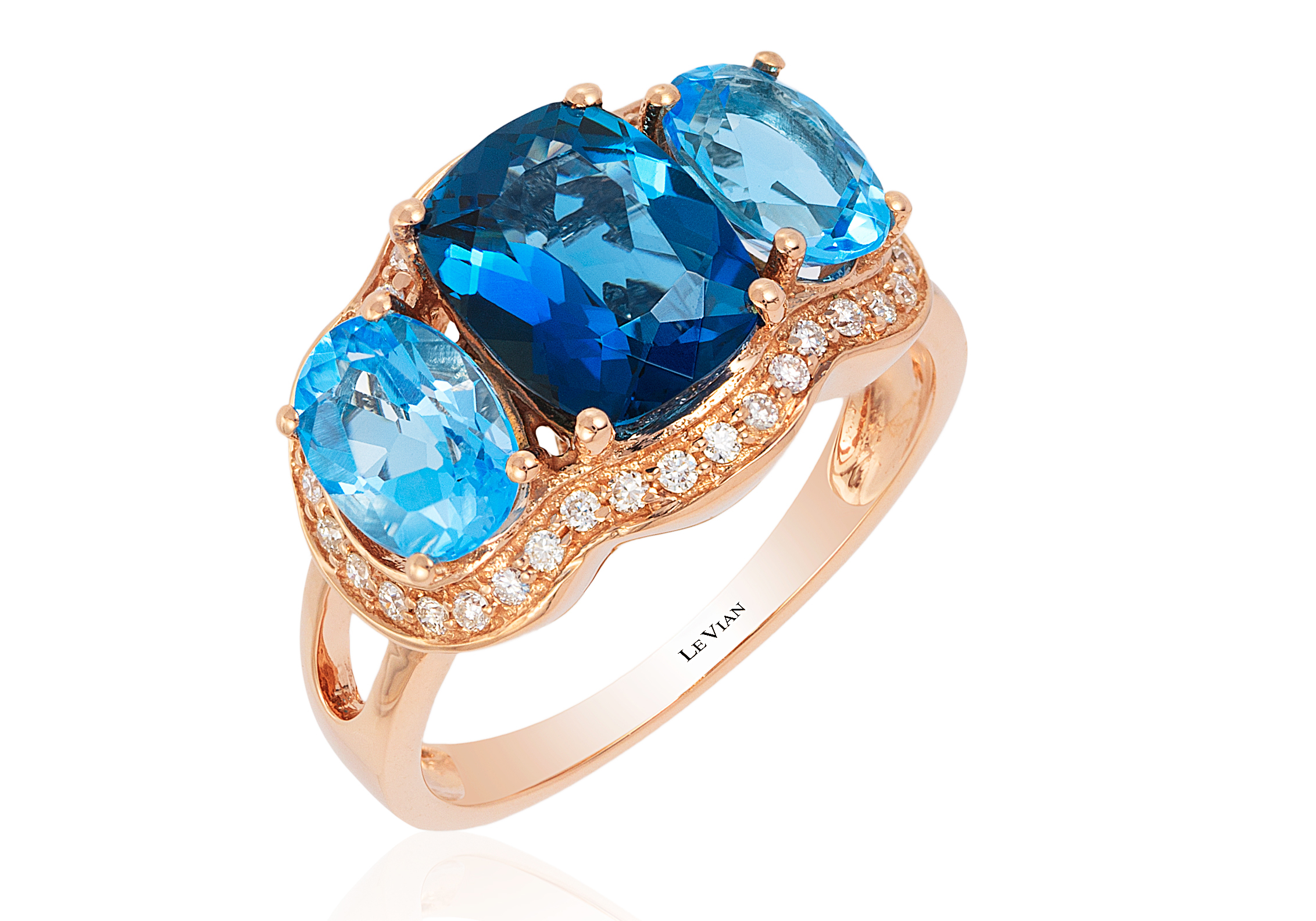 Le Vian Sea Blue Topaz ring | JCK On Your Market