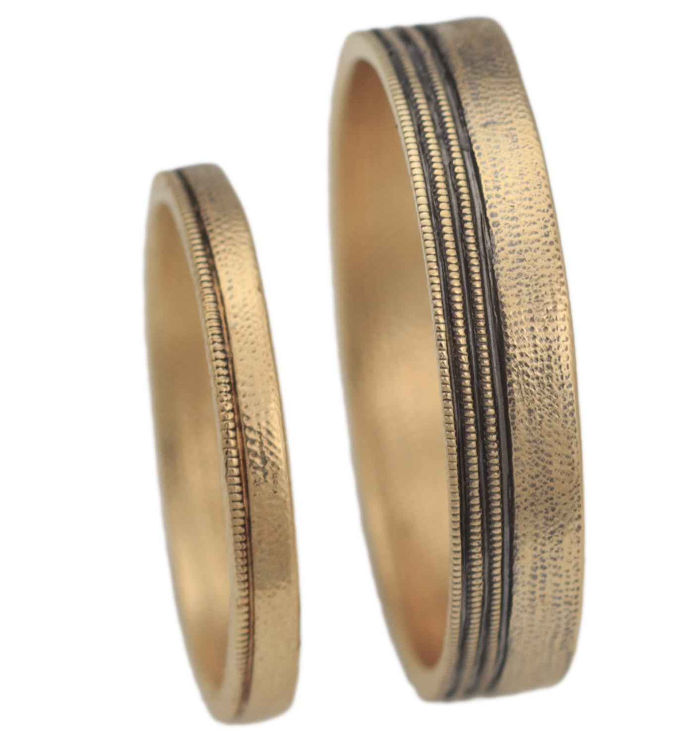 Audrius Krulis Tide Lines wedding bands | JCK On Your Market