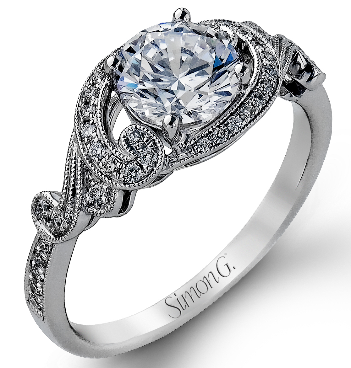 Simon G Vintage Explorer engagement ring | JCK On Your Market