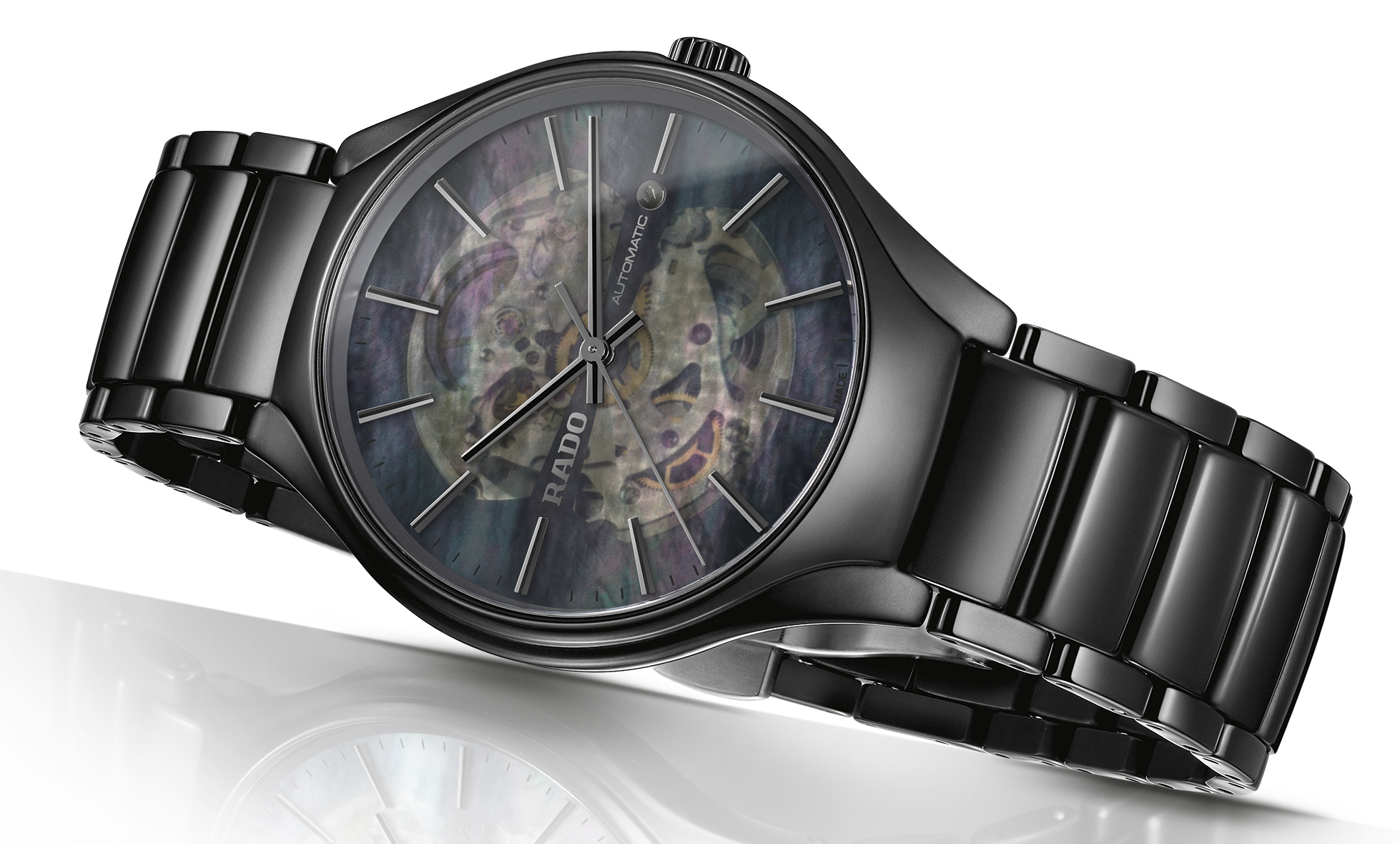 Rado True Open Heart watch in black | JCK On YOur Market