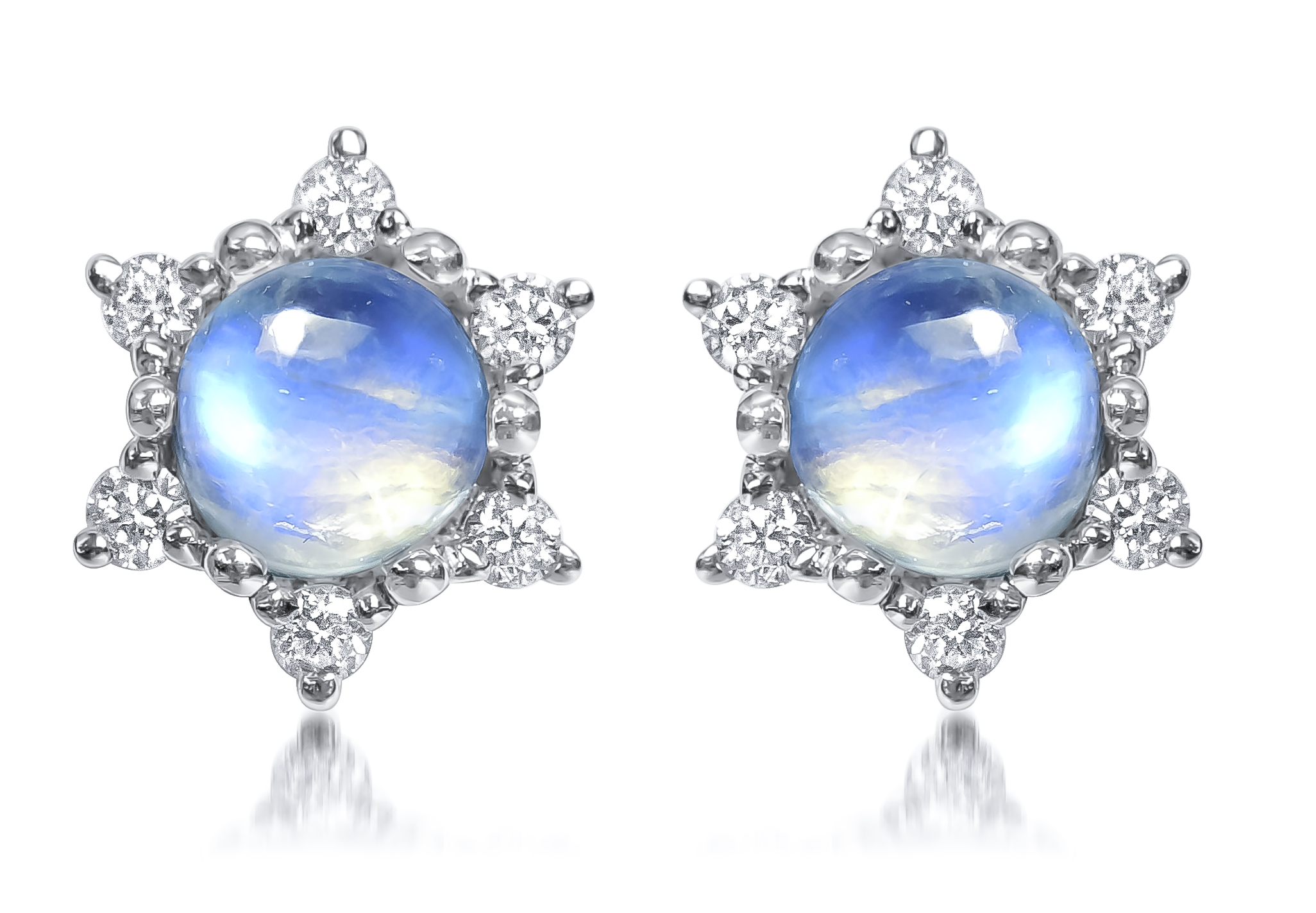 Ayva Venus collection moonstone earrings | JCK On Your Market