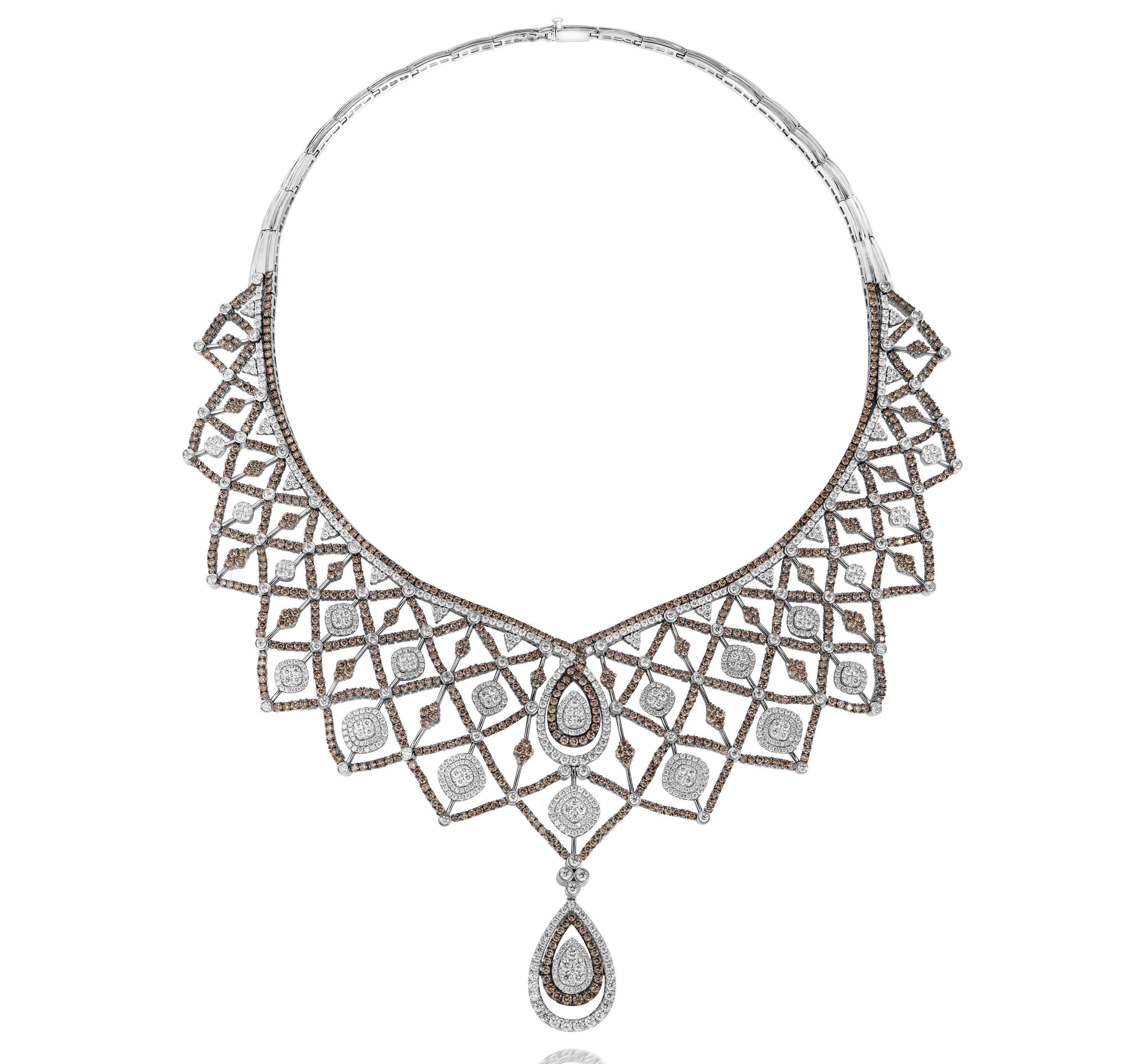Le Vian Chocolate Diamonds and Vanilla Diamonds necklace | JCK On Your Market