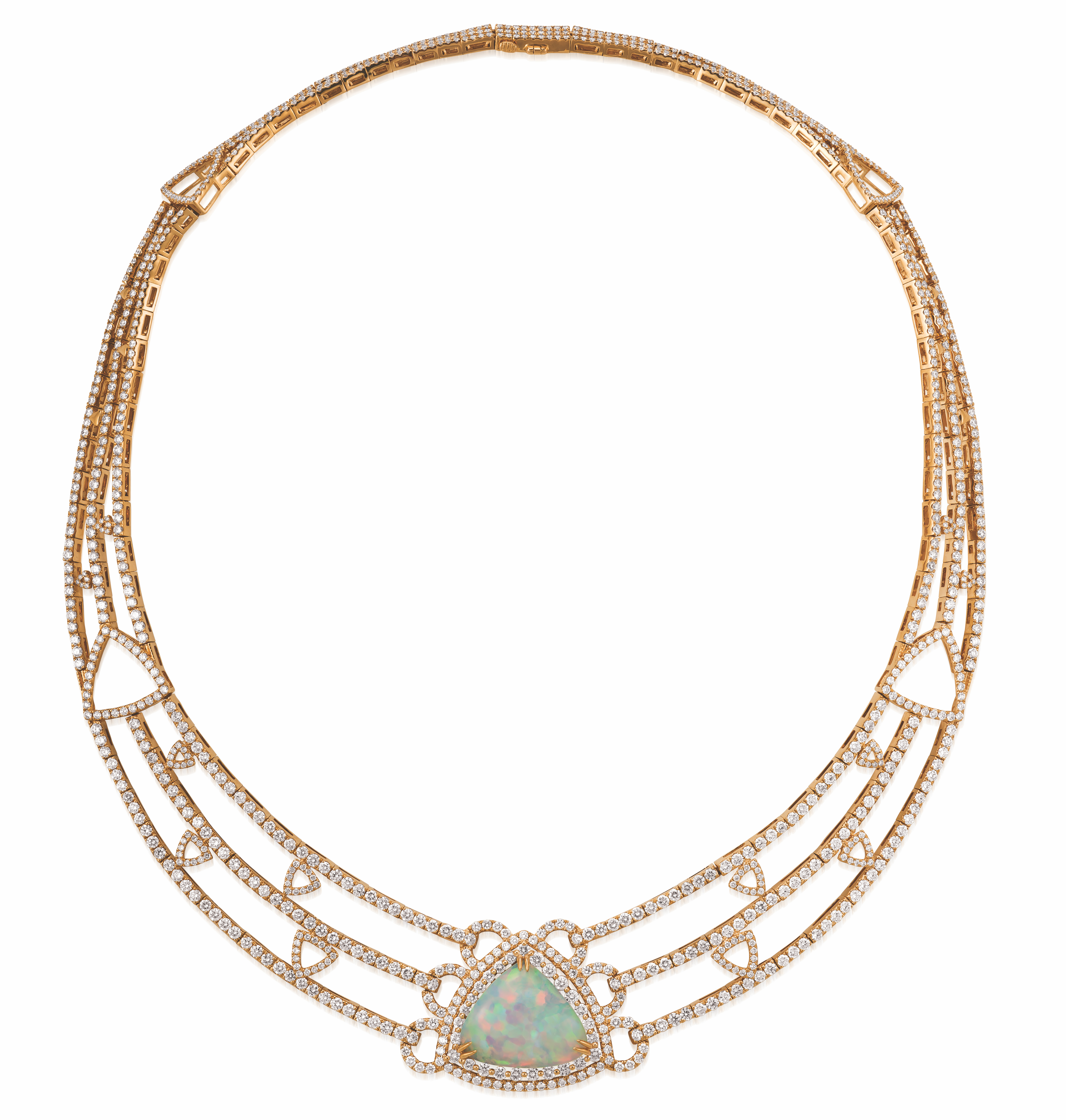 Le Vian Naopolitan Opal collar necklace #BRITTSPICK | JCK On Your Market