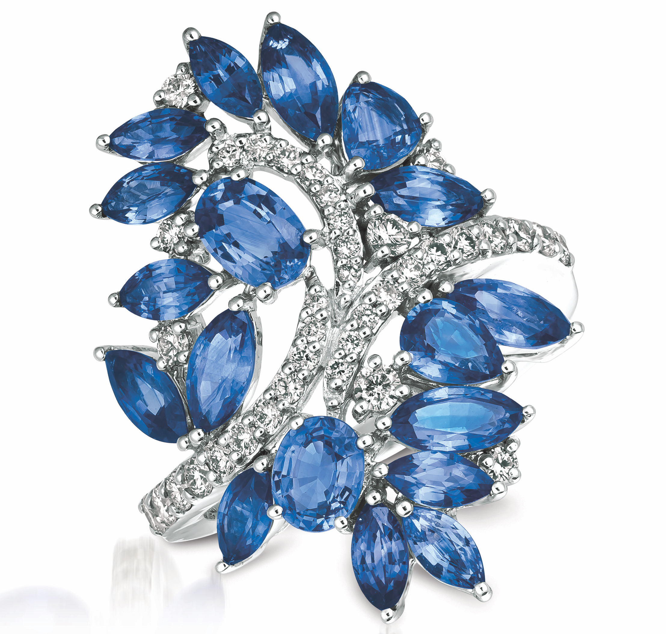 Le Vian Cornflower Ceylon Sapphire ring | JCK On Your Market