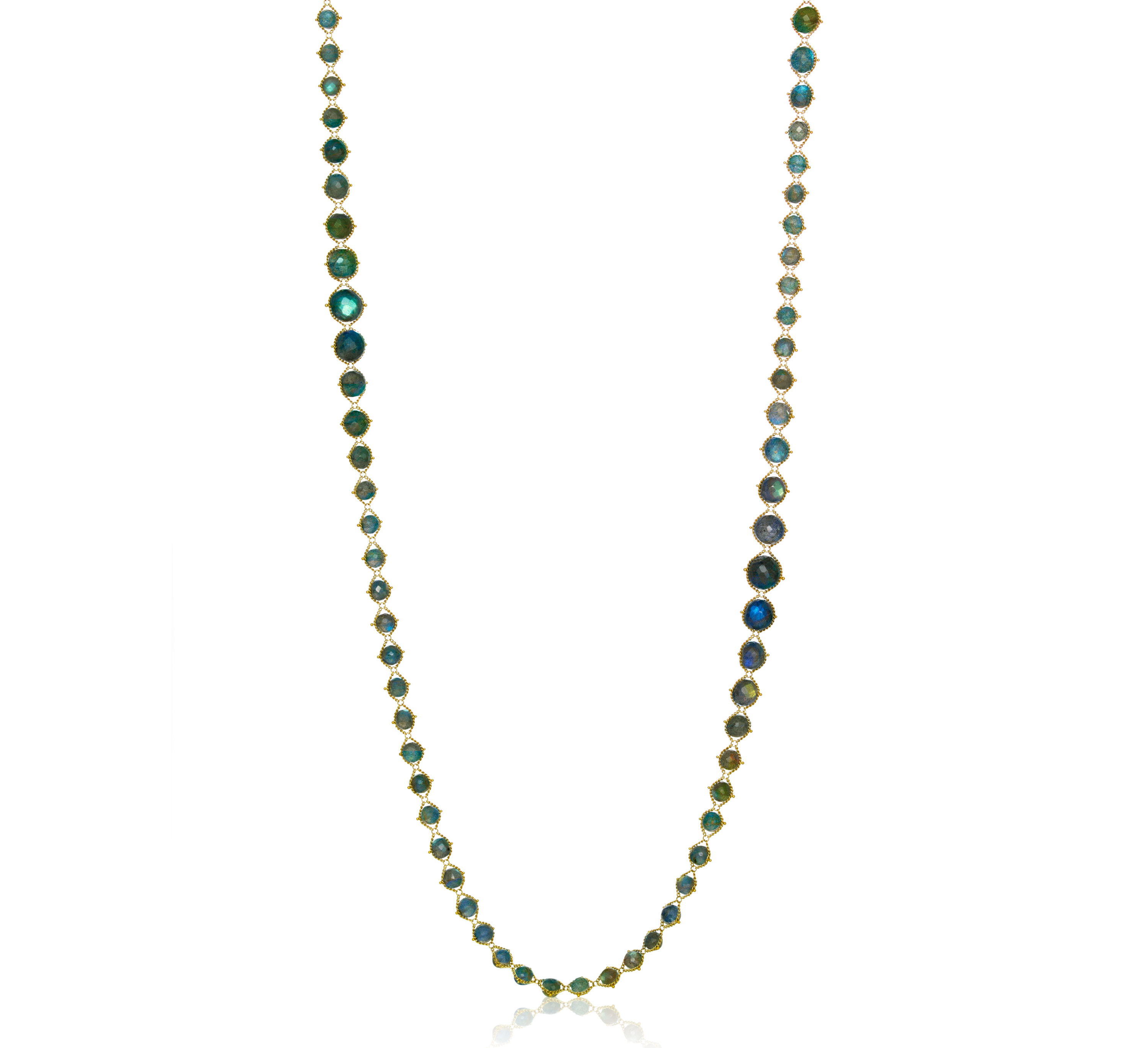 Amali Jewelry woven labradorite necklace | JCK On Your Market