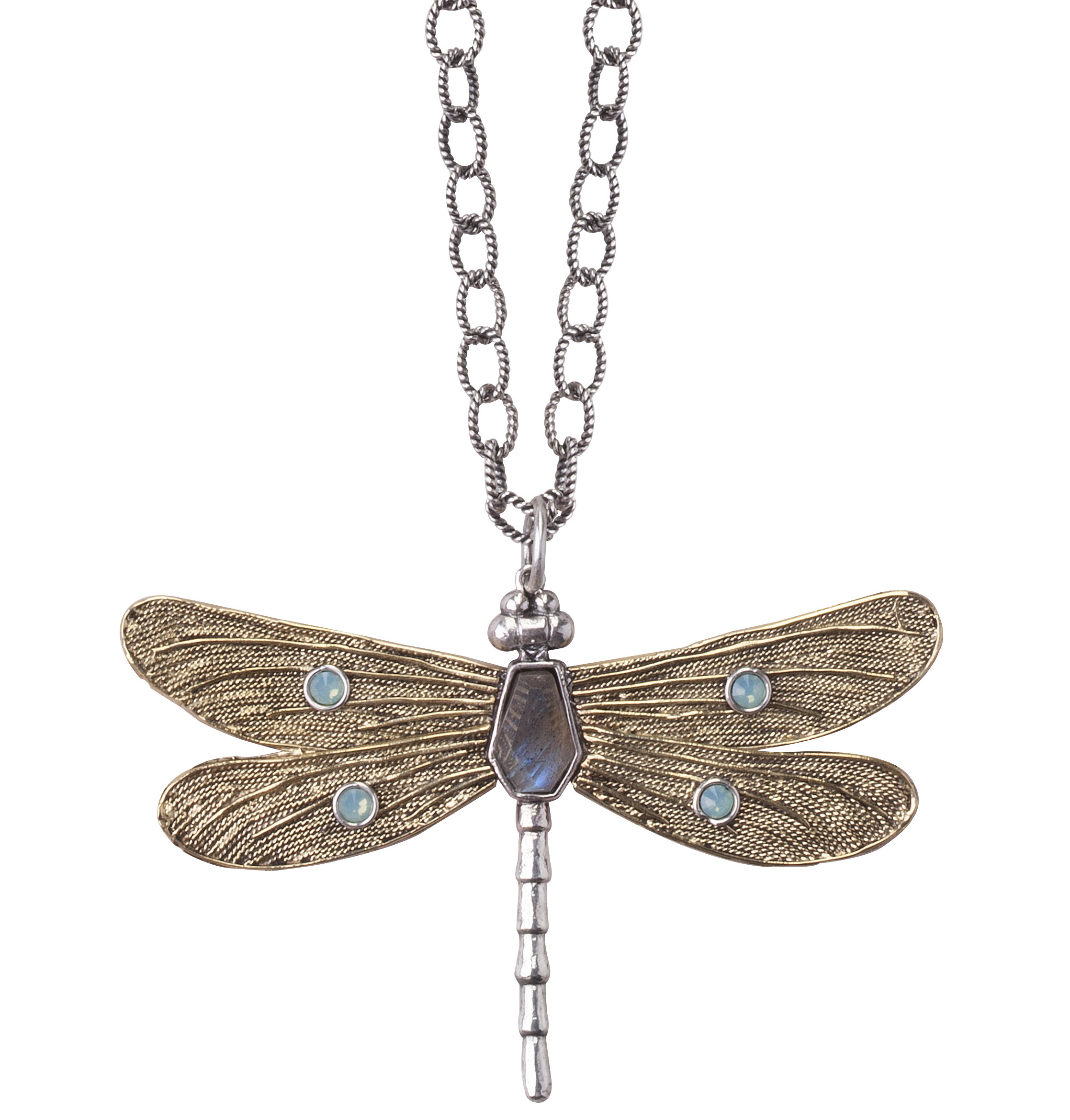 Waxing Poetic Transformative dragonfly pendant | JCK On Your Market