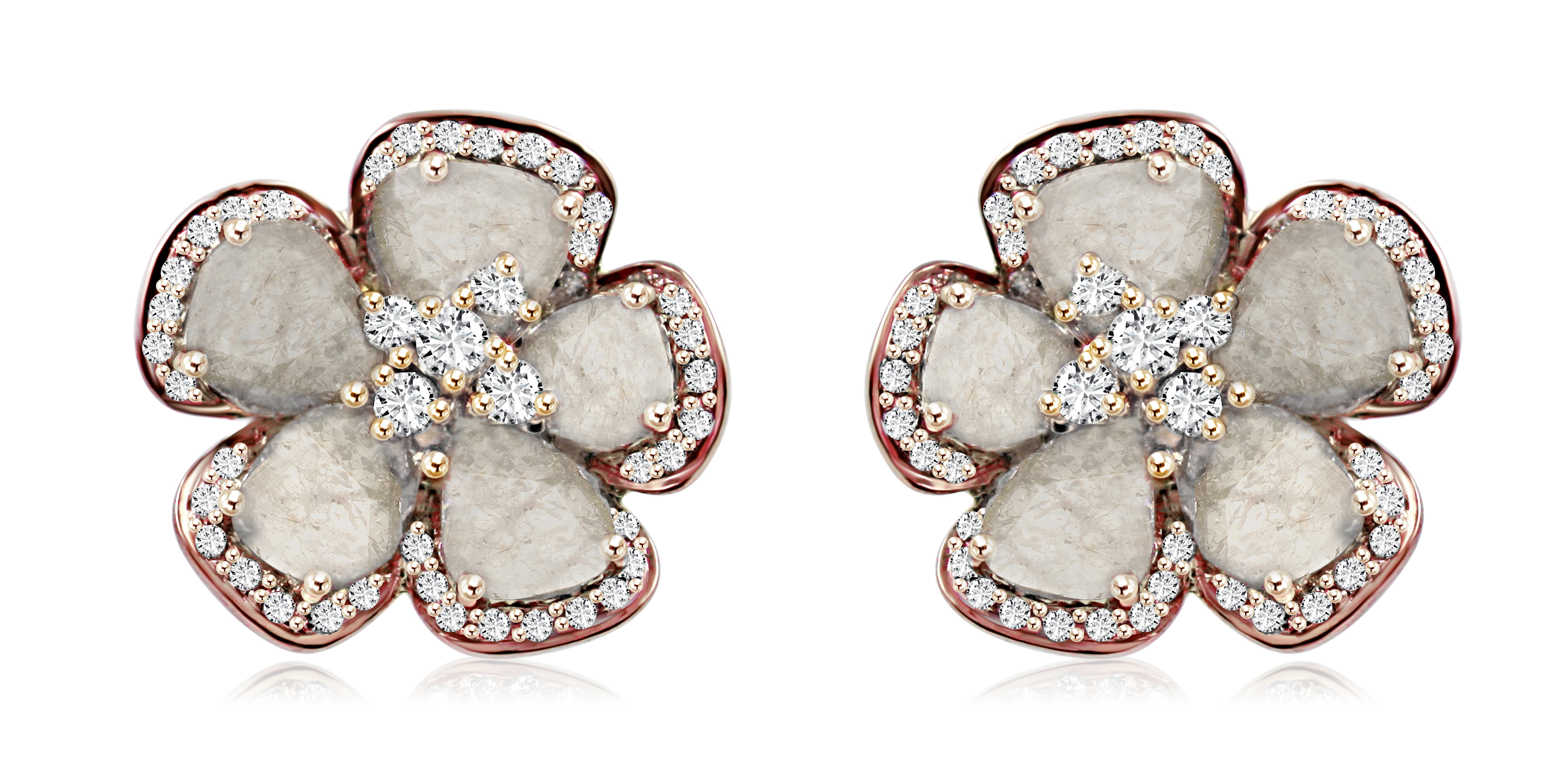 Vivaan flower earrings | JCK On Your Market