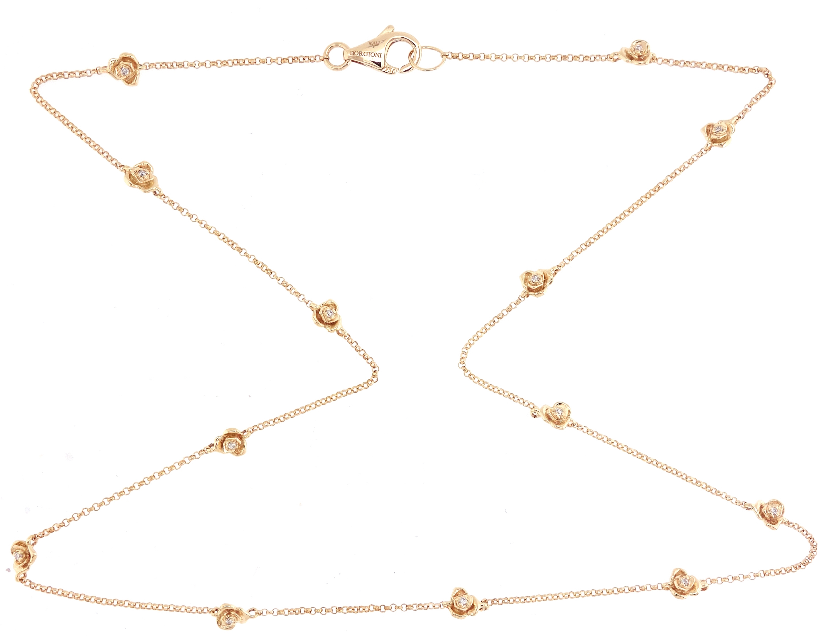 Borgioni Rose by-the-yard necklace | JCK On Your Market