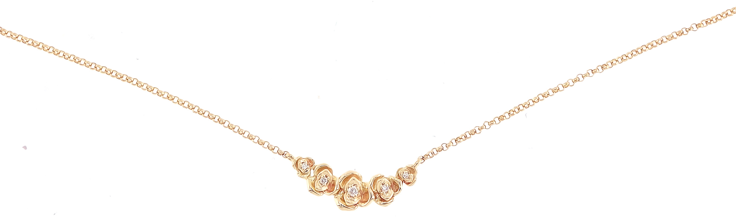 Borgioni small rose necklace | JCK On Your Market